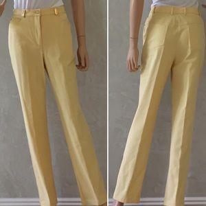 St John Sport size 8 Yellow Trouser Pant